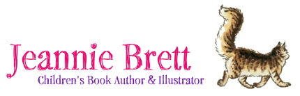 Jeannie Brett, Children's Book Author & Illustrator