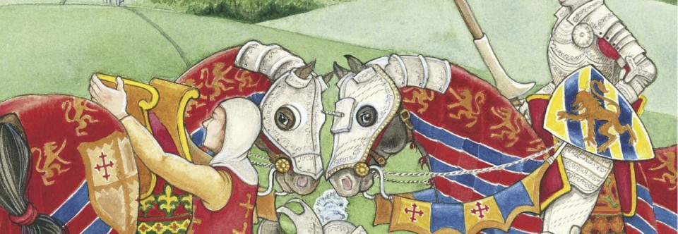 Medieval Decorated Horses of Europe